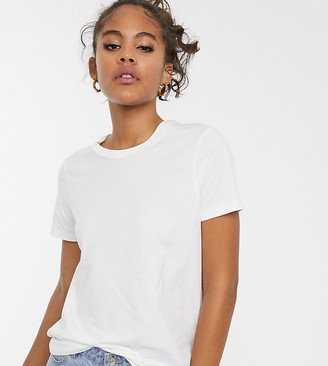 Asos Tall DESIGN Tall ultimate organic cotton crew neck t-shirt in white