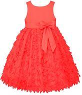 Girls 4-6x American Princess Satin Petal Dress