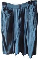 Chloé Green Cotton Shorts