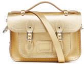 The Cambridge Satchel Company Women's Mini Satchel - Gold Saffiano