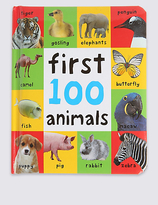 Marks and Spencer First 100 Animals Book