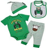 John Deere Baby Boy Cow Bodysuit & Pants Set