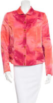 Akris Punto Tie-Dye Button-Up Jacket