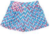 Jessica Simpson Tweens Plaid Crinkle Shorts