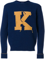 MAISON KITSUNÉ K jumper - men - Lambs Wool - S