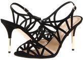 Kate Spade Issa (Black Suede) - Footwear