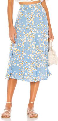 Faithfull The Brand Jocelyn Midi Skirt