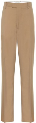 Bottega Veneta High-rise straight wool pants