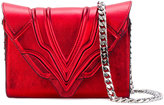 Elena Ghisellini envelope shoulder bag - women - Lamb Skin - One Size