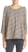 The Great Women's Print Cotton Voile Blouse