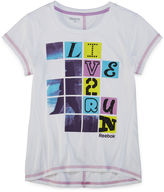 Reebok Short-Sleeve Live 2 Run Tee - Girls