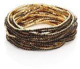 ABS by Allen Schwartz Faceted Stretch Bracelets/Set of 20