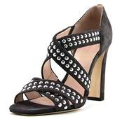 Christopher Kane Dots Open Toe Suede Sandals.