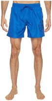 Diesel Sandy Quick Dry Light Microfiber 6 inch Swim Shorts w/ Mohican Head Graphic WAKV