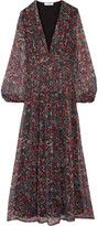 IRO Kimie printed silk-chiffon maxi dress