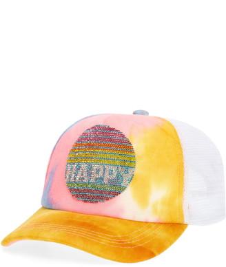 Bari Lynn Happy Beaded Trucker Hat