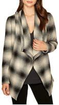 BB Dakota Plaid Wrap Jacket