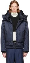 Wooyoungmi Navy Down Short Jacket