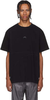 A-Cold-Wall* Black Overlock T-Shirt