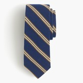 J.Crew English wool-silk tie in multistripe