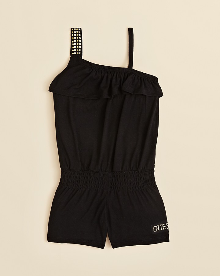 GUESS Girls' Studded Romper - Sizes S-XL