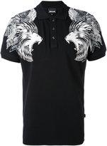 Just Cavalli lions print polo shirt - men - Cotton/Spandex/Elastane - M