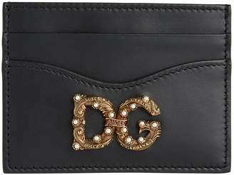 Dolce & Gabbana Leather Card Holder