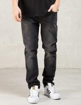 Nudie Jeans Black Black Heat Tight Long John Jeans