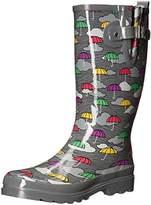 Western Chief Women's Umbrella Clouds Rain Boot