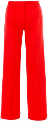 Off-White Straight Leg Trousers