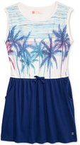 Roxy Palm Tree Graphic Dress, Big Girls (7-16)