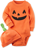 Carter's Pumpkin Cotton Bodysuit With Hat, Baby Boys and Girls (0-24 months)