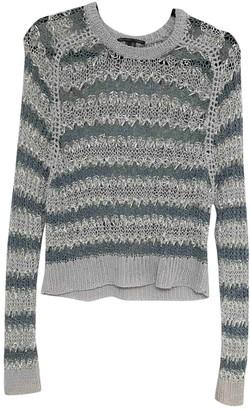 Theyskens' Theory Grey Linen Knitwear