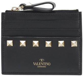 Valentino Rockstud Coin Purse/Card Case