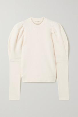Ulla Johnson Philo Cotton-jersey Sweatshirt - Beige