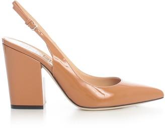 Sergio Rossi Sergio Patent Chanel 90 Large Heel