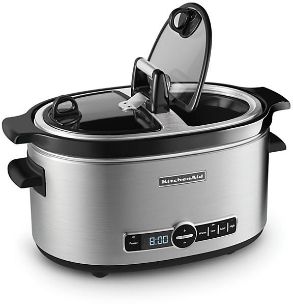 KitchenAid 6-Qt. Hinged Lid Slow Cooker