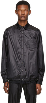 Sacai Black Nylon Shirt