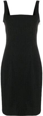 Givenchy Pre Owned 1990's Flared Midi Dress
