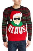 Alex Stevens Men's Klaus Ugly Christmas Sweater