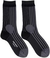 Issey Miyake Black Plasma Socks