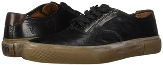 Frye Ludlow Bal Oxford (Black Goat Pull Up) Men's Lace up casual Shoes
