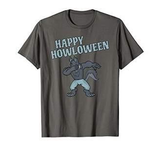 Dabbing Werewolf Halloween T-Shirt