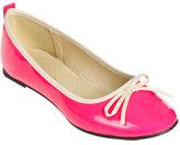Wet Seal WetSeal Bow Ballet Flat Neon Pink