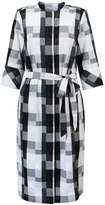 Oliver Bonas Shoma Check Midi Shirt Dress