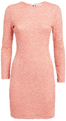 Alice + Olivia Alice+Olivia Delora Sequin Mini Dress