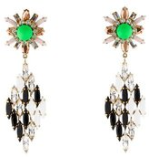 Shourouk Embellished Drop Earrings