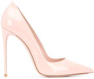 Le Silla Pointed Toe 1200mm Heel Pumps