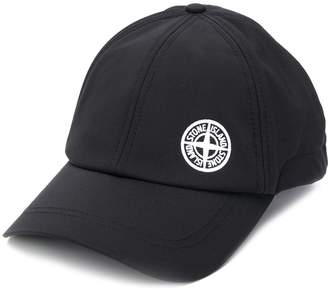 Stone Island stitched panel baseball cap
