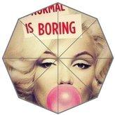 Custom Umbrella Marilyn Monroe Quotes Custom Folding Umbrella Personalized Foldable Raining Umbrella